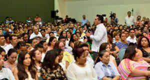 Convoca el gobernador a maestros promover trabajo en equipo y transformar Campeche
