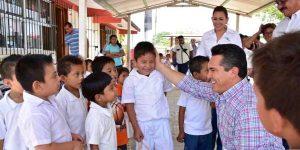 Sector educativo prioridad de mi gobierno: Alejandro Moreno Cárdenas