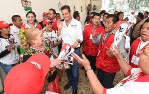 Respaldan oaxaqueños del Estado de México proyecto de Alejandro Murat Hinojosa