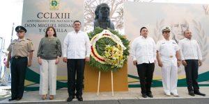 Convocan en Yucatán, a mantener vivo el legado de Miguel Hidalgo