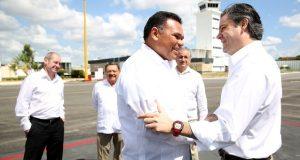 Titular de la SEP, Aurelio Nuño Meyer en gira de trabajo por Yucatán