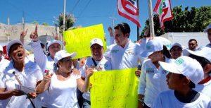 Con tu voto vamos a mejorar Benito Juárez: Remberto Estrada