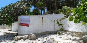 Clausura PROFEPA tres desarrollos turísticos más en Bahía de Akumal en Tulum Quintana Roo