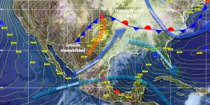 Continúa el pronóstico de precipitaciones muy fuertes para Chiapas
