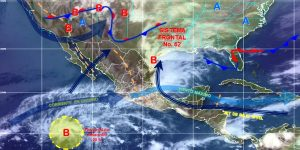 Prevén 40 grados de temperatura en Veracruz, Oaxaca, Chiapas y Campeche