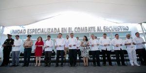 Respaldo pleno del Gobierno federal a Yucatán en seguridad