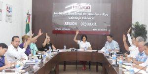 Aprueba IEQROO lineamientos para debates políticos entre candidatos