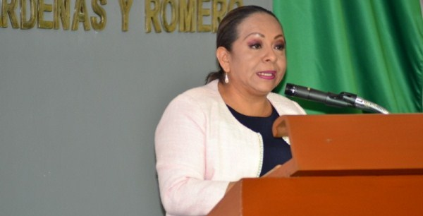 Diputada Yolanda Rueda