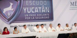 Escudo Yucatán será modelo nacional en materia de seguridad