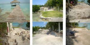 Clausura PROFEPA construcción de casa de descanso en Bacalar, Quintana Roo