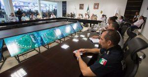 Analizan acciones a favor de la seguridad de Yucatán