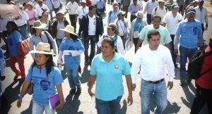 Detienen al líder del CNTE en Oaxaca