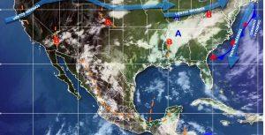 Se pronostican chubascos con tormentas muy fuertes en Chiapas y Veracruz