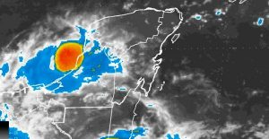 El Sureste con temperaturas calurosas y la presencia de lluvias por las tardes