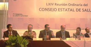 Participa Alcalde de Coatzacoalcos en 64 Reunión Ordinaria del Consejo Estatal de Salud