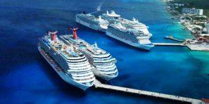 Llegan 14 Cruceros a las costas de Quintana Roo: APIQROO