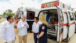 Inauguran en Umán módulo de la Cruz Roja