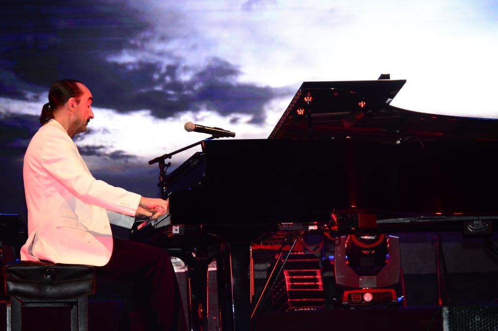 Di Blasio en concierto