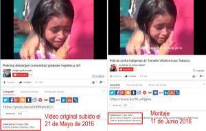 Video falso sobre hechos de Tamulté circula en redes sociales