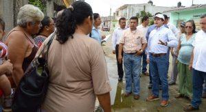 Supervisa edil Gerardo Gaudiano trabajos de mantenimiento en Gaviotas Sur
