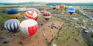 Celebra Perote 491 años de Fundación con Globos Aerostáticos