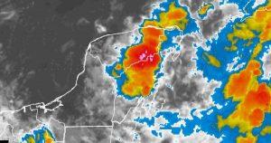Se mantiene el pronóstico de lluvias para los próximos días en la Península de Yucatán