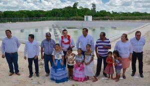Moreno Cárdenas pone en servicio en Calakmul, obras por más de 29.7 MDP