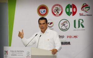 Trabajar con eficacia para cumplirle a los ciudadanos: Alejandro Moreno