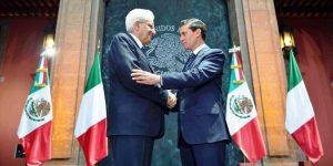 Firman México e Italia cinco acuerdos