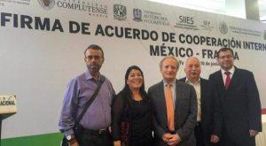 Se suma UJAT al Acuerdo de Cooperación Internacional México-Francia