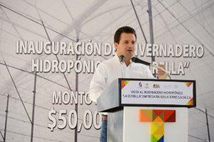 Certidumbre para las inversiones en Centro, compromiso prioritario: Gaudiano