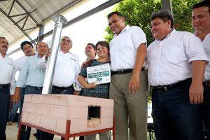 Avanza en Yucatán a buen ritmo cruzada contra carencias sociales