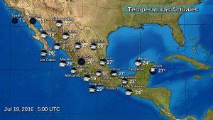 Se pronostican en Chiapas, chubascos fuertes con tormentas: SMN