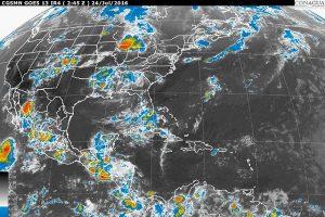 Se prevén lluvias de diferentes intensidades en la mayor parte de México
