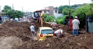 Atiende Gobierno de Coatzacoalcos daños por las lluvias