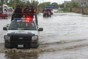Prepara Policía Estatal Plan Tajín por lluvias en el sur de Veracruz
