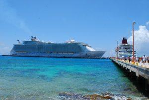 Constantes llegadas de Cruceros, consolida a Quintana Roo como referente mundial turístico
