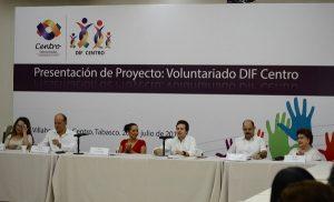 """Convocan a integrar """"Voluntariado DIF Centro""""; focalizar la atención a causas sensibles, el objetivo"""