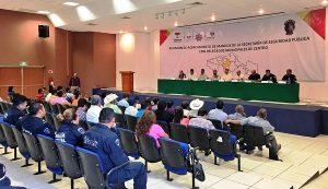 Conocen delegados de Centro a mandos de la SSP
