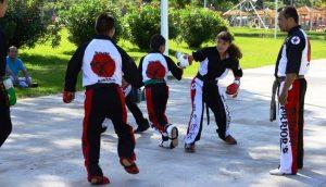 """Suma """"Centro en Movimiento"""" karate, kick boxing y juegos inflables"""