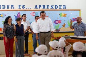 Niños de preescolar disfrutan «Escuelas de verano» en Yucatán