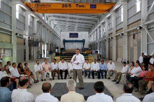 Industria y empleos en Yucatán, con tendencia ascendente