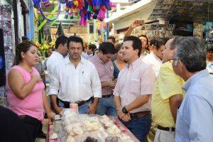 """Mejorar el mercado """"de la Sierra"""" para garantizar seguridad a locatarios y ciudadanos: Gerardo Gaudiano"""