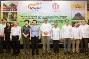 Fortalecen Yucatán y China alianza en materia laboral