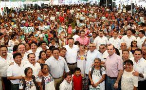 Mejorar en Yucatán, cerca de cumplir con su meta