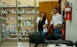 Garantía a las familias de comunidades rurales atención permanente a la salud: Alejandro Moreno