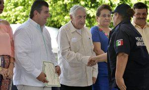 Da Núñez apoyos para el campo y la seguridad pública en Teapa