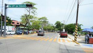 Adecuación vial en Usumacinta ya está funcionando; inician trabajos para agilizar tráfico en Tabasco 2000