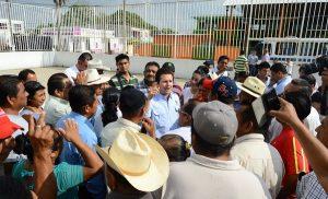 Supervisa Gaudiano trabajos de mantenimiento en Tamulté de las Sabanas