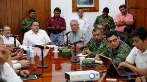 Continúan autoridades de Yucatán seguimiento puntual a la zona de inestabilidad en el mar Caribe